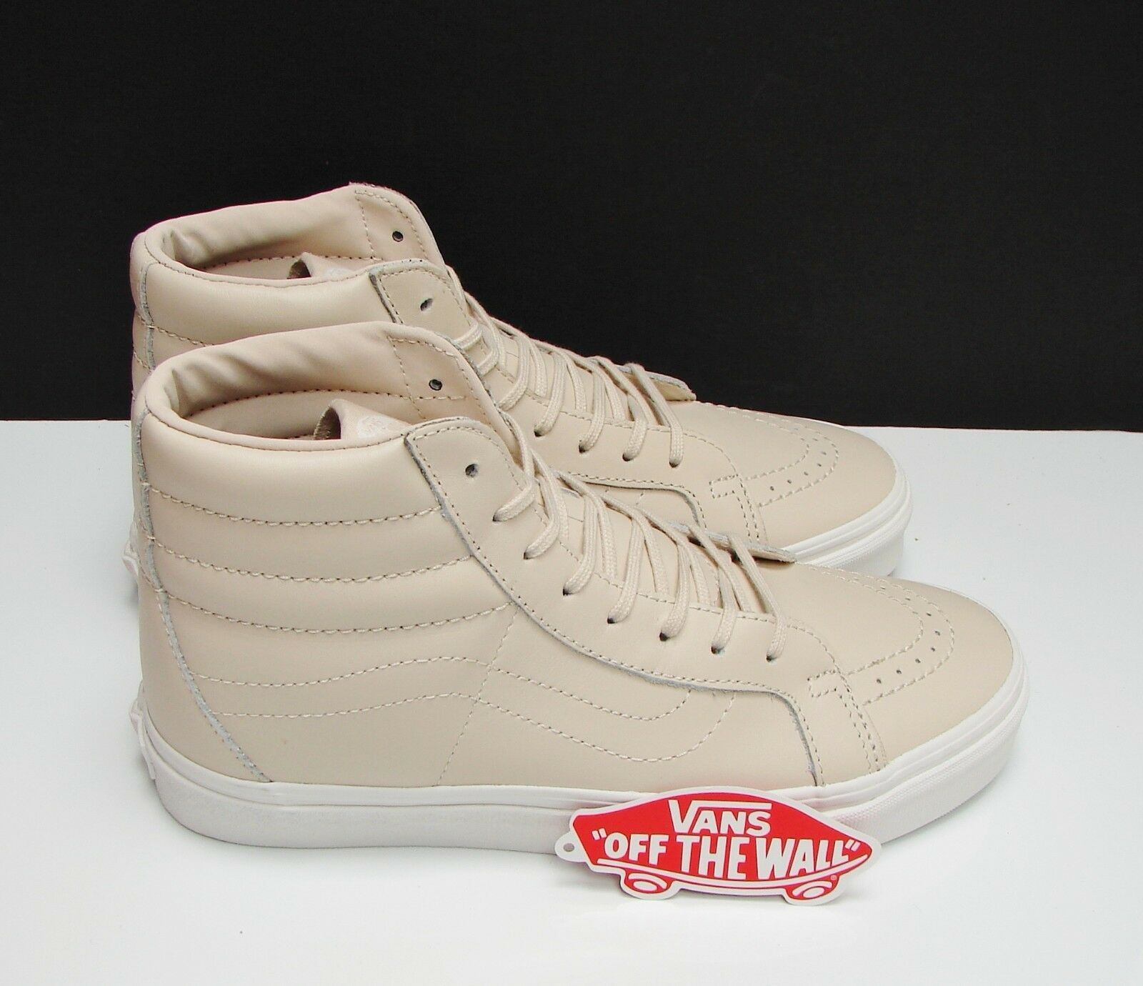 Vans SK8 Hi Reissue DX Leather Whisper Pink gold gold gold VN0A38GJOES Women's Size  8 ded0bf