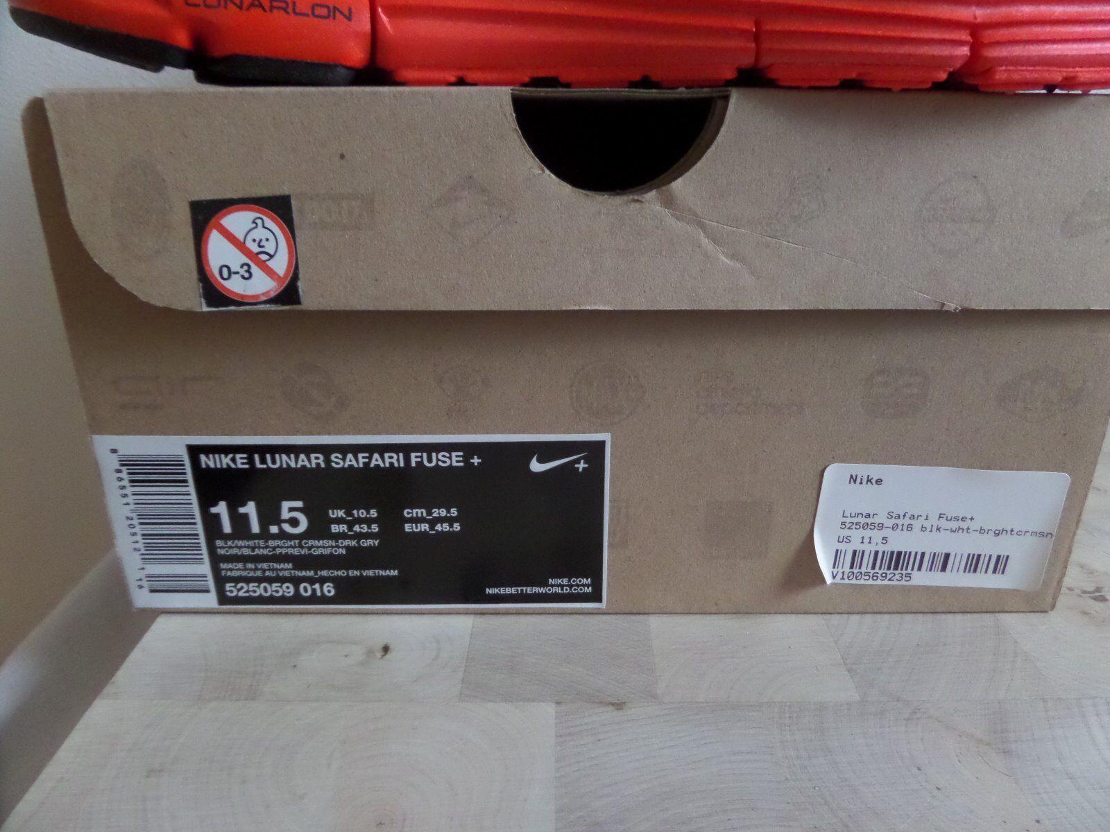 Nike Lunar Lunar Lunar Safari Fuse+ EU45.5 UK10.5 US11.5 c59de9