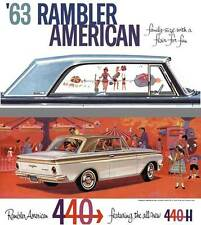 Rambler American 1963 - 63 Rambler American - family-size with a flair for fun