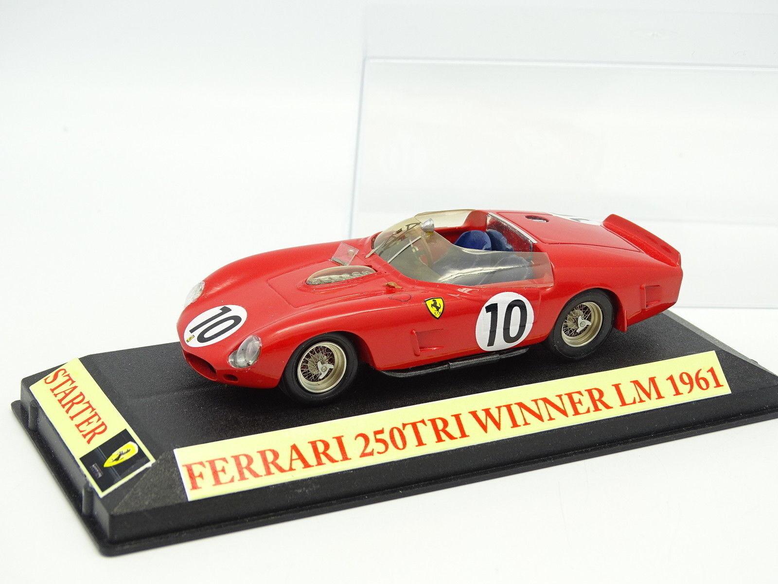 Starter Kit Monté 1 43 - Ferrari 250 TRI N°10 Winner Le Mans 1961