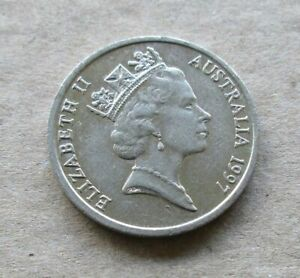 AUSTRALIAN-1997-10-CENT-COIN-LOW-MINTAGE-YEAR-KEY-DATE