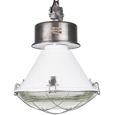 komplett renoviert LOFT BAUHAUS FABRIK lampe Alte Industrielampe aus Polen