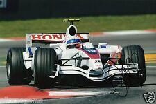 "Controlador de prueba de 1 forumla Anothony Davidson mano firmado foto 12x8"" F1 AA"