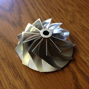 Image Is Loading T28 Billet Compressor Wheel For Garrett Turbo Nissan