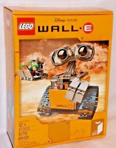SEALED-21303-LEGO-IDEAS-Disney-Pixar-WALL-E-Movie-Space-Robot-676-pc-RETIRED-set