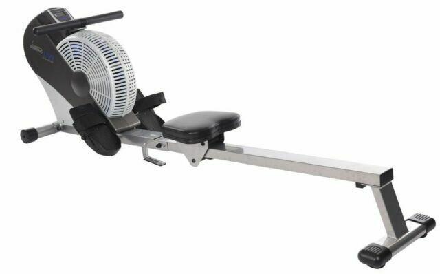 Stamina DT Pro Rower 35-1485 rowing machine folds for storage.