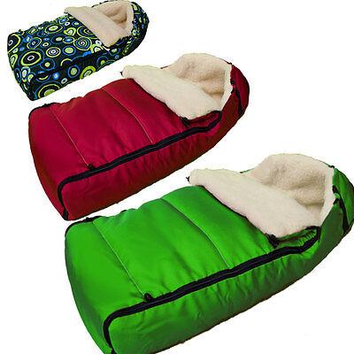 Luxus Fußsack Kompatibel mit Britax Caterpillar B-Motion B-Agile Doppel