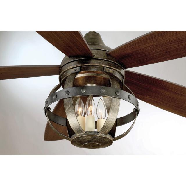 Patio Ceiling Fan Remote Unique Rustic