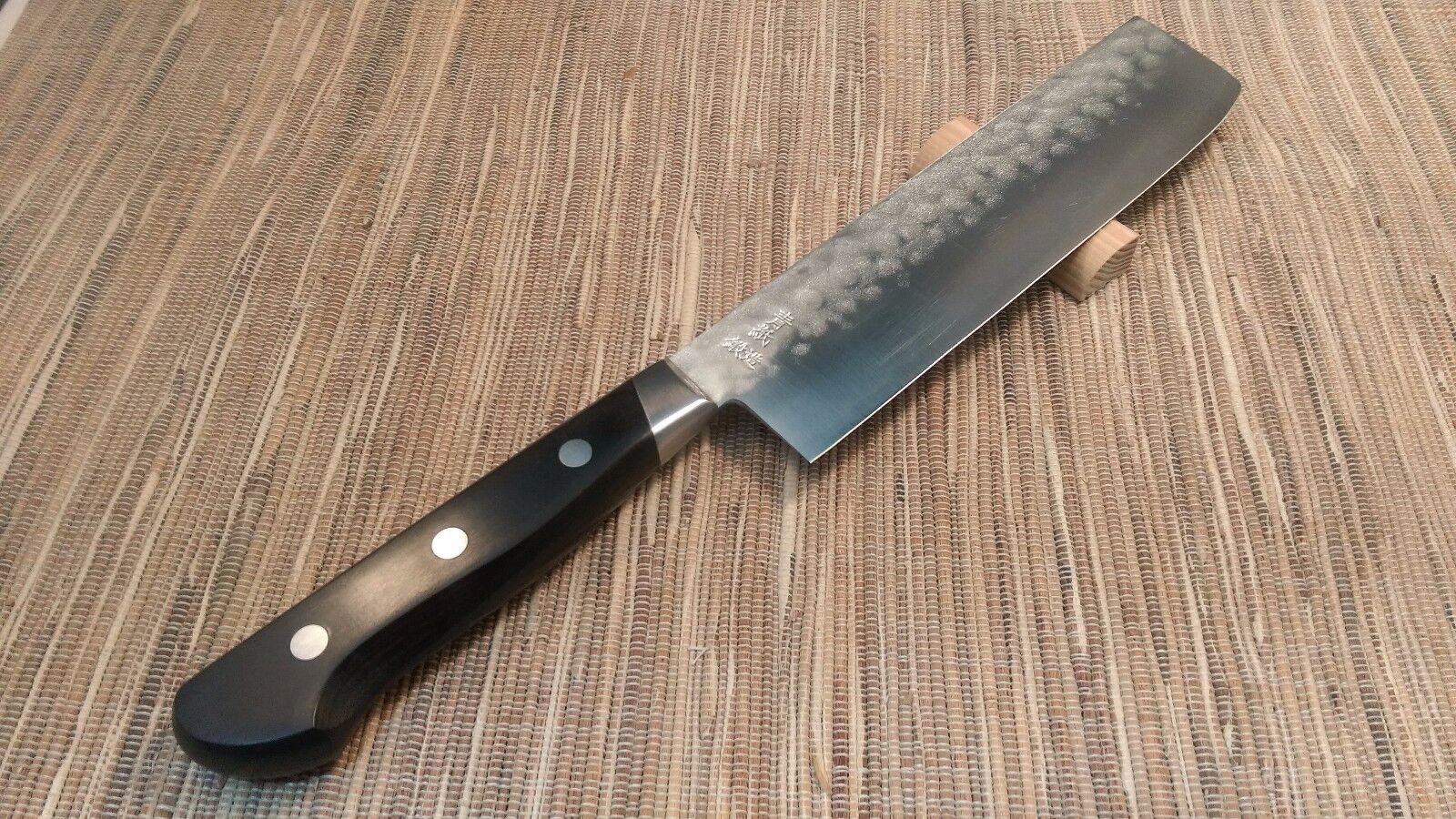 Sakai japonais couteaux de cuisine  Yoshihiro AOGAMI lame en acier  yhb USUBA Couteau