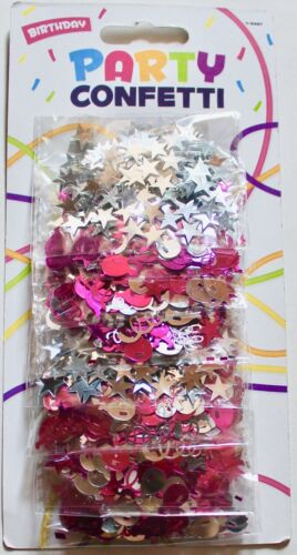 stars choose from pink or blue 8 pack Birthday party foil confetti balloons