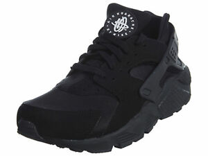 hot sales a0902 ea8a7 Nike Air Huarache Run Triple Black 318429-003 Sz 10