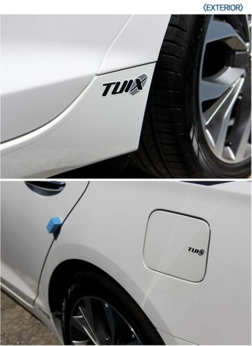 TUIX Lettering Logo Decal Sticker For Hyundai Elantra Tuson Sonata I20 I30 ECT