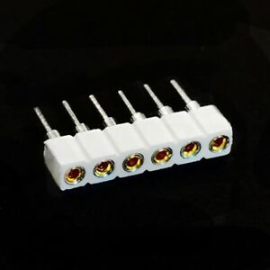 WHITE-Socket-Strip-for-Philips-Hue-Lightstrip-Plus-Female-6-Pin-Round-Single