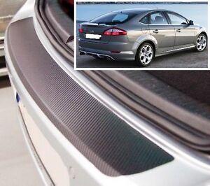Ford-Mondeo-Mk4-Hatchback-estilo-Carbono-Parachoques-trasero-PROTECTOR