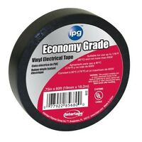 Intertape 602 12 Pack 3/4x60ft. Electrical Tape, Black