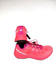 SALOMON-Sonic-Pro-W-Coral-Punch-orange-pink-38-2-3-UK-5-5-Damen-Schuhe