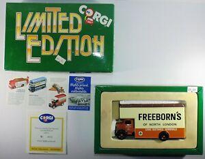 CORGI-Limited-Edition-freeborns-BEDFORD-97086-Rimozione-modello-Furgone-Camion