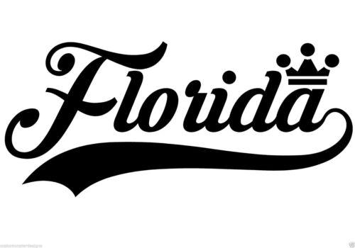 Vinyl Wall Art Quote Decor Words Decals Sticker Florida..