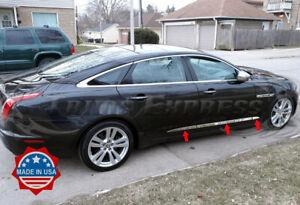 2009-2019-Jaguar-XJ-X351-6Pc-Body-Side-Molding-Trim-Stainless-Steel-2-1-8-034