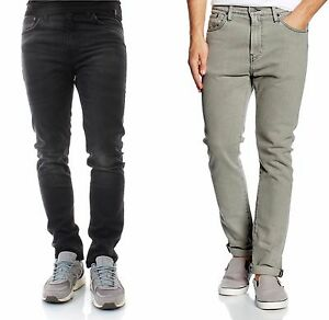 Levis 510 Skinny Fit Jeans Mens Low Rise Colored Wash ...