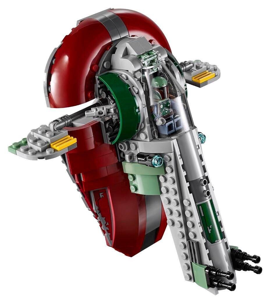 LEGO STAR WARS Slave I w  Boba Fett Minifigure from Set