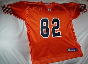 best sneakers 60b85 12a95 Details about Rare Alan Page jersey! Chicago Bears men's XL NEW! NFL  vintage throwback ORANGE