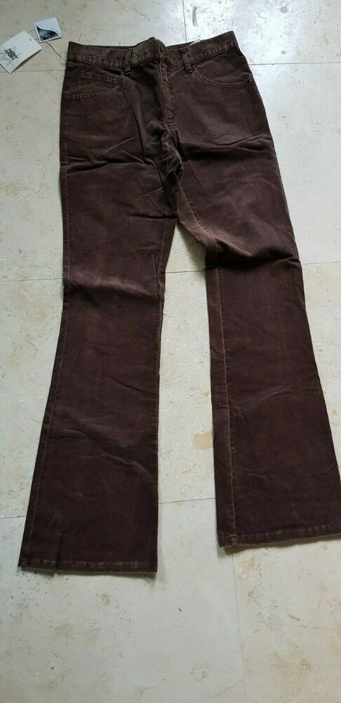 2410 Neuf Pantalon New-man Collection Taille 42 Velours Couleur Epices