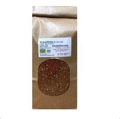 Bio-Keimsaat Braunhirse 500g Samen