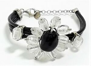Bracciale Donna Costanza Antica Murrina V. Murano Glass Made in Italy v449