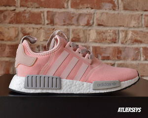adidas shoes nmd grey and pink. image is loading adidas-nmd-r1-runner-vapor-pink-light-onix- adidas shoes nmd grey and pink i
