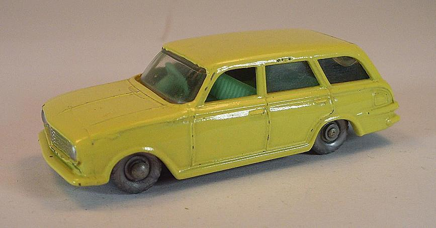 Matchbox Regular Wtalons  No 38 B Vauxhall Victor Estate jaune vert Int spw 179  approvisionnement direct des fabricants