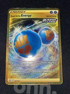 SWSH05: Battle Styles, Rapid Strike Energy Secret 182/163p2-11697