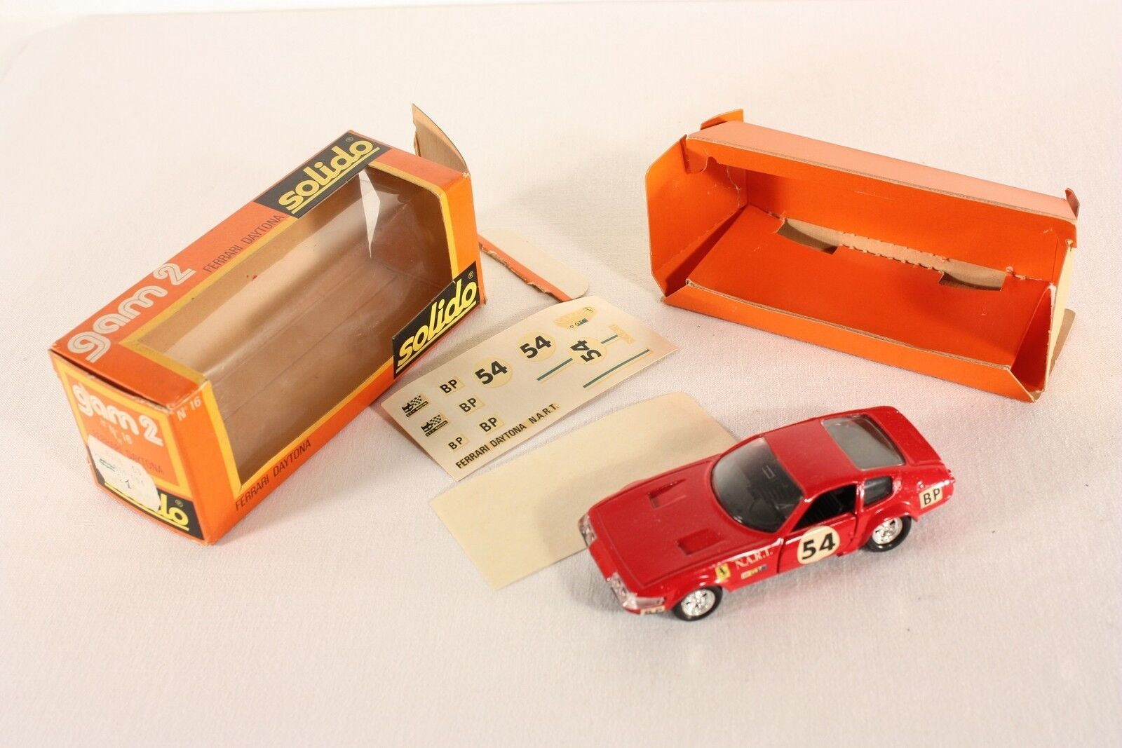 Solido 16, Ferrari Daytona, Mint in Box      ab674