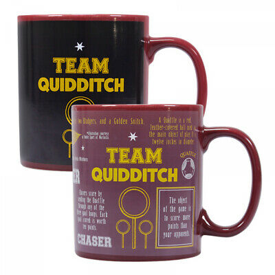 2019 Nuovo Stile Harry Potter Quidditch Heat Changing Magic Coffee Mug Cup In Gift Box Colori Armoniosi