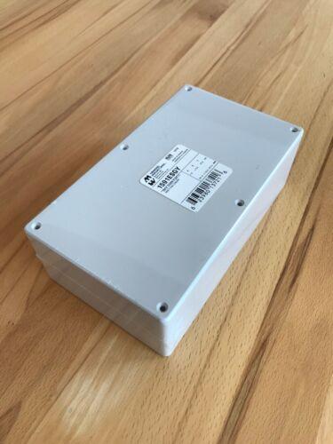 Hammond Electronics 1591ESGY Universal-Gehäuse mit Kartenführungen Grau RAL 7035