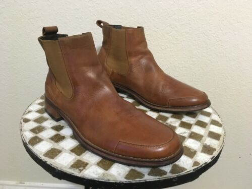 COLE HAAN BROWN ANKLE BEATLE BOOTS 11.5 M
