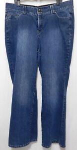 Lane-Bryant-Bootcut-Jeans-Tighter-Tummy-Tech-Womens-Plus-20-Dark-Wash