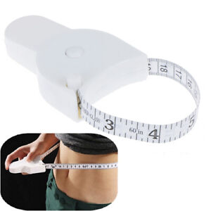 Body Tape Measure for measuring Waist Diet Weight Loss Fitness Health-qk