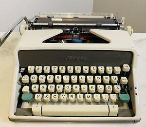 Vintage Olympia SM7 Typewriter Original Receipt