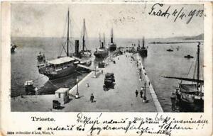 CPA-Trieste-Molo-S-Carlo-ITALY-529538