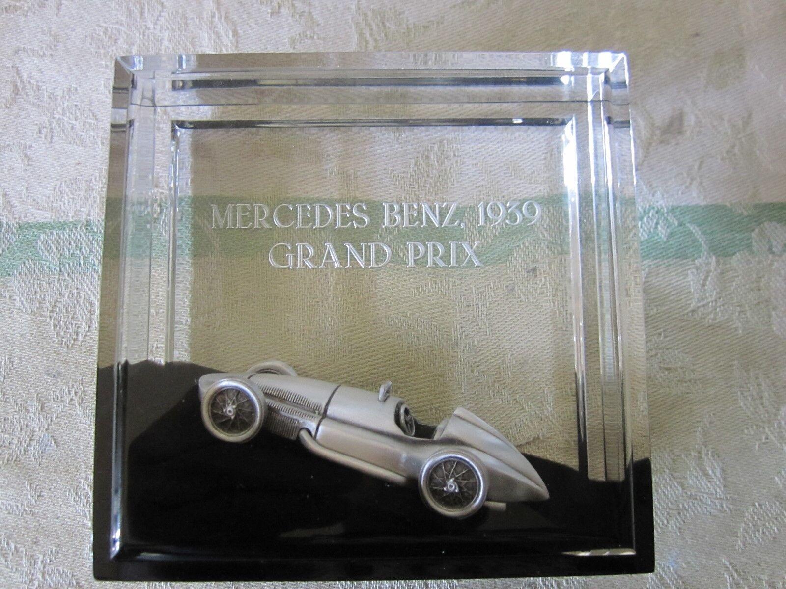 Maßstab 1  43 mercedes - benz grand prix limited 1939 display   papier gewicht.