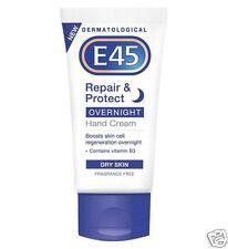E45 Reparador & Protección De Noche Crema De Manos Piel Seca Vitamin B3