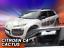 CITROEN C4 CACTUS berline 5 portes 2014-up Front Vent Déflecteurs 2pc HEKO tinted