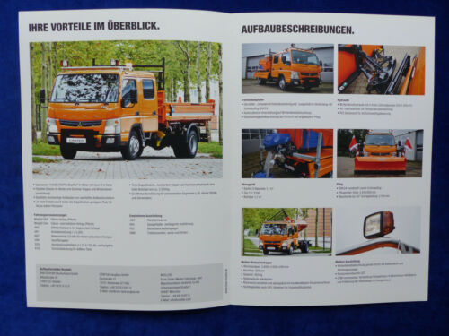 Prospekt Brochure 03.2015 Fuso Canter 7C15D Winterdienst Sommer-