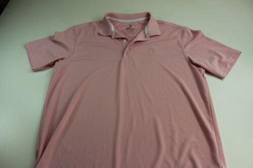 Bobby Jones Performance Candy Pink Golf POLO SHIRT