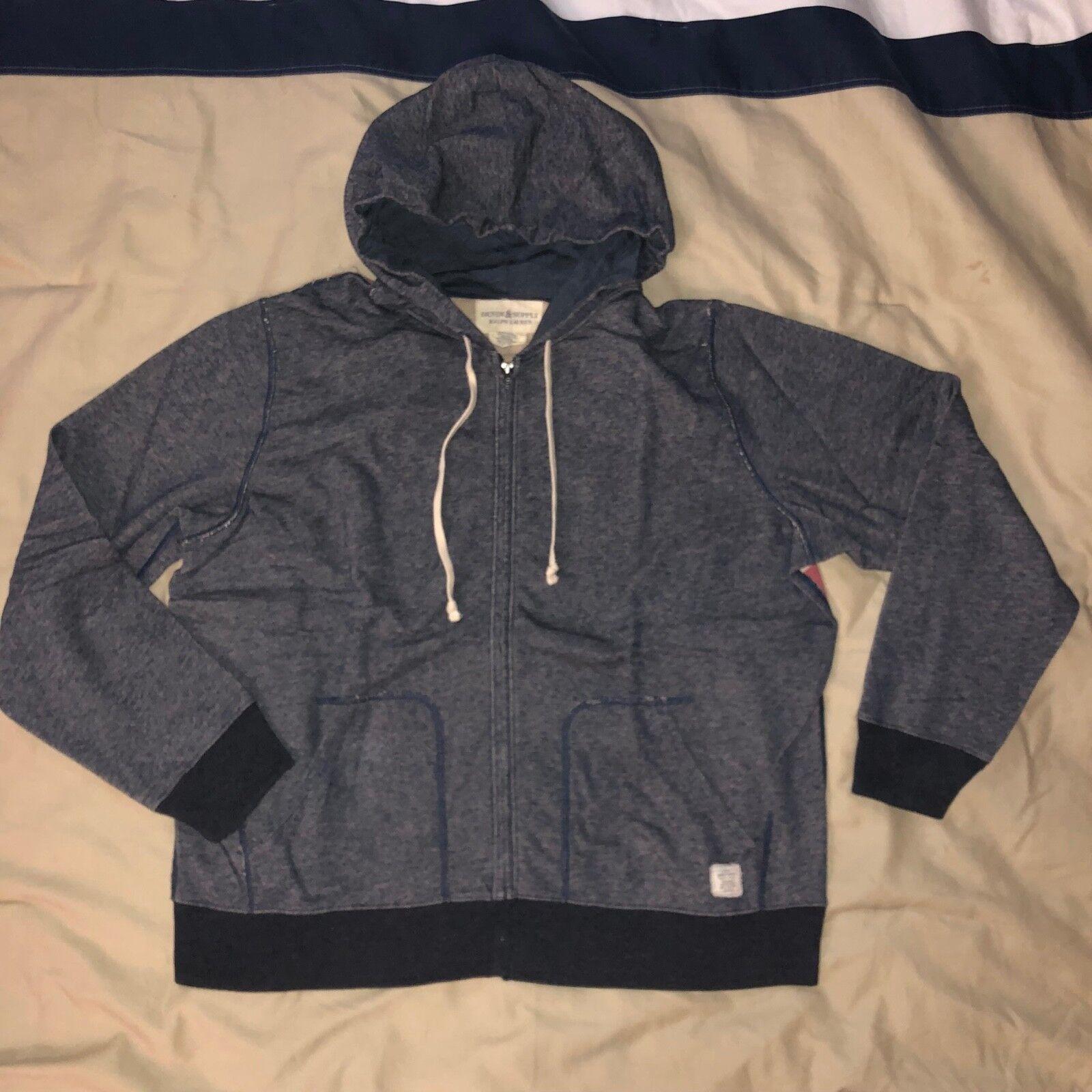 Ralph Lauren Polo Blau Denim USA Hoodie Jacket New NWOT