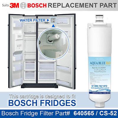 AL-052CS WATER FILTER FITS BOSCH KAN58A10-i KAN58A40 REFRIGERATOR CS-52 640565