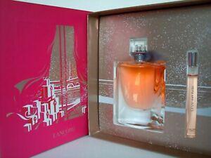 LANCOME La Vie Est Belle 100ml Eau de Parfum +10ml EDP Spray Geschenkset NEU