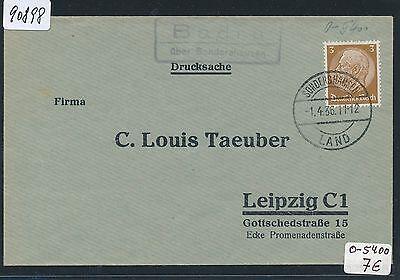 Dr > Ddr Landpost Ra2 Badra über Sondershausen Clever 90898 Ds 1936 Um Jeden Preis