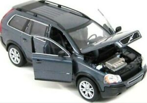 VOLVO XC90 T6 una SR AWD Grigio 2003 Welly 1/24 AUTO Scala Modello Diecast